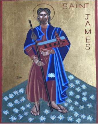 icon of st james