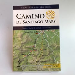 village to village camino frances maps