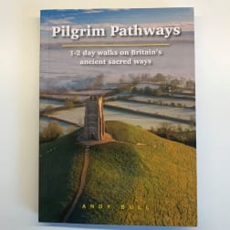 cover of pilgrim pathways by andy bull