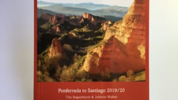 cover of guidebook to camino invierno johnnie walker tim stapenhurst