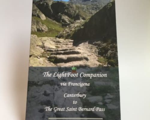 Companion to the Via Francigena Part 1 - Canterbury to The Great St Bernard Pass £9.99