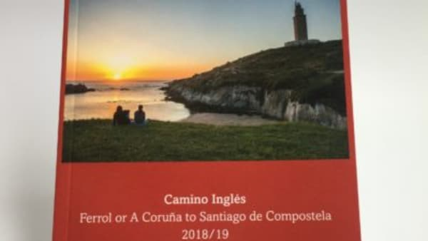 cover of guidebook to camino ingles johnnie walker