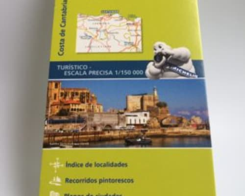 Costa de Cantabria Michelin ZOOM map 143 £5