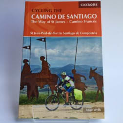 cover of cycling the camino de santiago camino frances