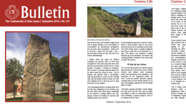 pages of writing from CSJ member magazine the bulletin