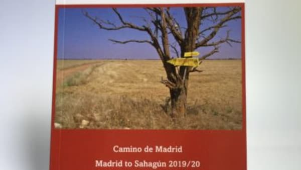 cover of guidebook to camino de madrid johnnie walker